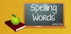 spelling words free