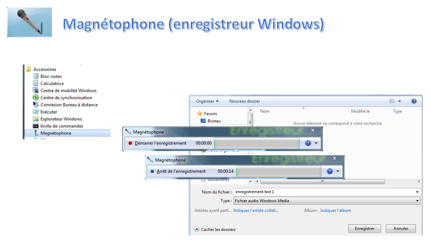 magnetophone - enregistreur windows