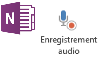 Enregistrement audio OneNote