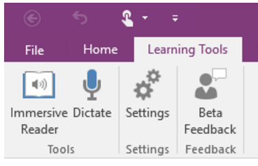 Outils apprentissage OneNote