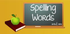 spelling words free